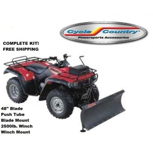 Cycle Country Complete Plow System With 2500lbs Winch