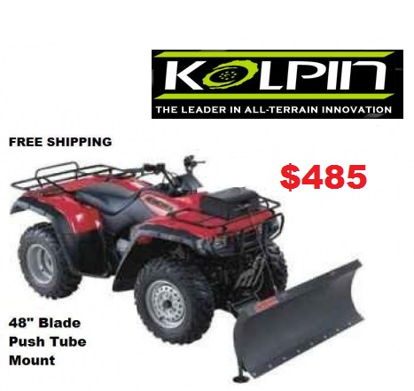 Complete Manual Lift Snow Plow System